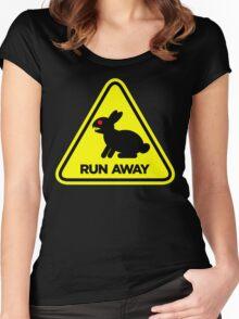 Killer Rabbit (Yellow) Women's Fitted Scoop T-Shirt