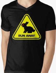 Killer Rabbit (Yellow) Mens V-Neck T-Shirt