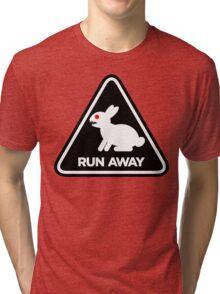 Killer Rabbit (Black) Tri-blend T-Shirt
