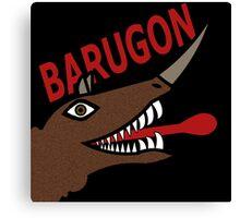 Barugon- Black Canvas Print