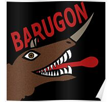 Barugon- Black Poster