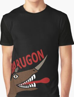 Barugon- Black Graphic T-Shirt