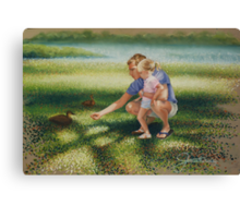 Diptych 1/2, Untitled. Canvas Print