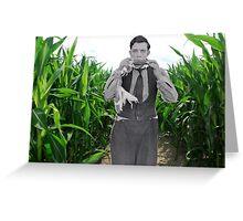 Cornfed Buster Greeting Card