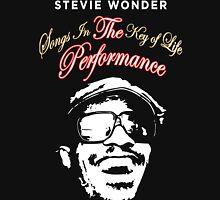 STEVIE WONDER Reyhan3 Songs In The key Of Life Tour Unisex T-Shirt