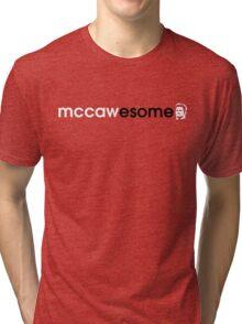 McCawesome White/Black Tri-blend T-Shirt
