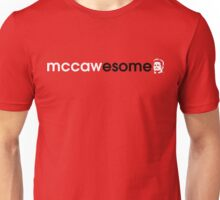 McCawesome White/Black Unisex T-Shirt