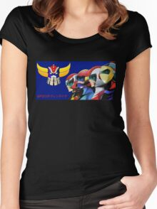 UFO Robot - Goldrake Women's Fitted Scoop T-Shirt