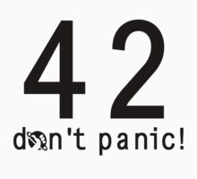 Don't Panic! - Lite Shirts by Pwnapple