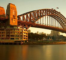 Gold on the Bridge by donnnnnny