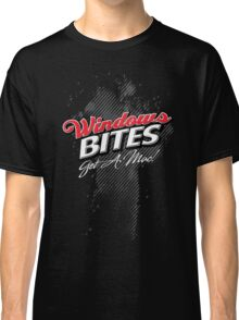 Windows Bites - Get a Mac!  |  for Dark Colors Classic T-Shirt