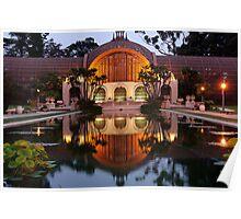 Balboa Park - Evening Poster