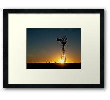 Outback Sunrise Framed Print