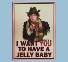 I want you to have a jelly baby Kids Tee