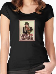 I want you to have a jelly baby Women's Fitted Scoop T-Shirt