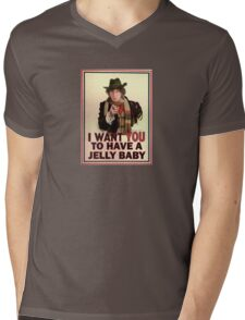 I want you to have a jelly baby Mens V-Neck T-Shirt