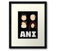 Ani: A Parody Framed Print