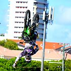 One-handed backflip by stephen walters