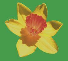 Daffodil Emblem Isolated Kids Tee