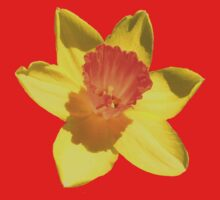 Daffodil Emblem Isolated One Piece - Short Sleeve