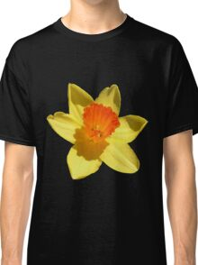 Daffodil Emblem Isolated Classic T-Shirt