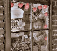 Jerome Arizona Window Front by Diana Graves Photography