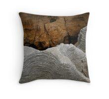 Pancake Rocks, NZ Throw Pillow