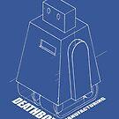 Curiosity bot - line art by gehlhausenn