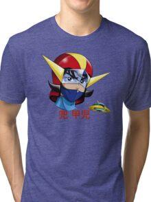 Kojii - UFO ROBOT Tri-blend T-Shirt