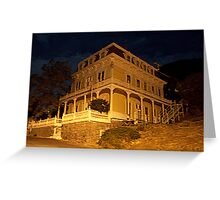 """Savage Mansion"" Greeting Card"