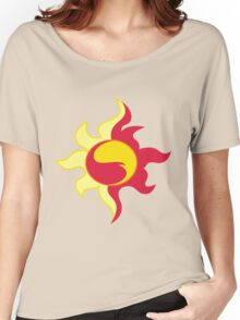 My little Pony - Sunset Shimmer Cutie Mark Women's Relaxed Fit T-Shirt