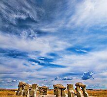 Carhenge by Charles Tribbey