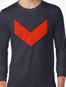 Goldrake Chevron  Long Sleeve T-Shirt