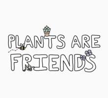Plants Are Friends!! Kids Clothes