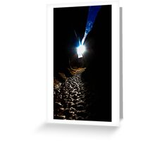 Sun & Slot Canyons Greeting Card