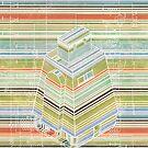 Curiosity bot - horizontal stripes alt by gehlhausenn