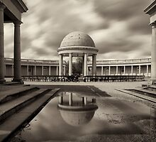 Bandstand at Eaton Park, Norwich by DaveTurner