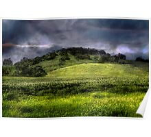 Storm Mountain - Kanmantoo, Adelaide Hills, South Australia Poster