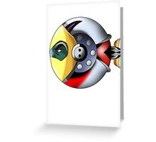 UFO Robot  Greeting Card