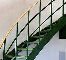 The Green Staircase by John Sharp