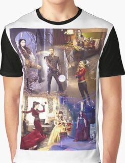 Once Upon A Time - main cast Graphic T-Shirt