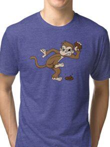 Angry monkey 2 Tri-blend T-Shirt