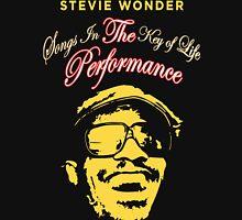 STEVIE WONDER Reyhan4 Songs In The key Of Life Tour Unisex T-Shirt