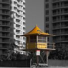 Lifeguard Tower 35 by John Sharp