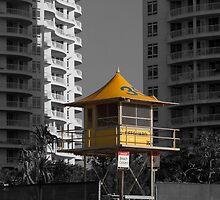 Lifeguard Tower 35 by John Sharp