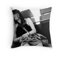 Snore ... Throw Pillow