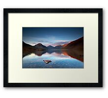 I ♥ Wastwater Framed Print