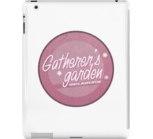 Gatherer's Garden (Weathered) iPad Case/Skin