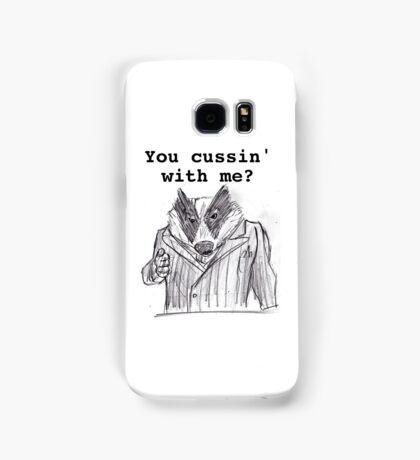 Badger Samsung Galaxy Case/Skin
