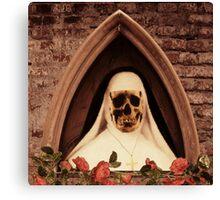 Scary Nun Canvas Print